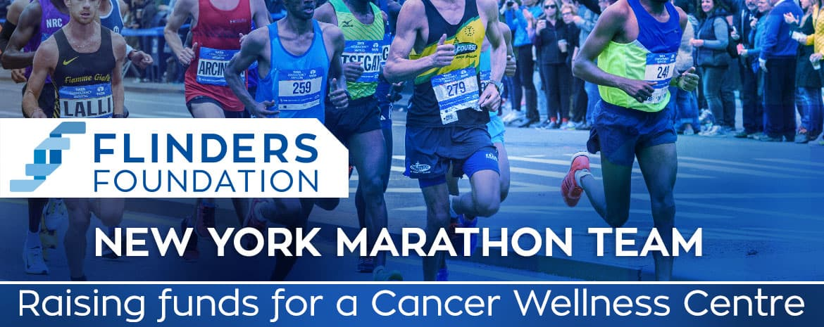Flinders Foundation New York Marathon Team